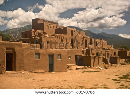 Historic Taos Pueblo North Section This Is The Oldest