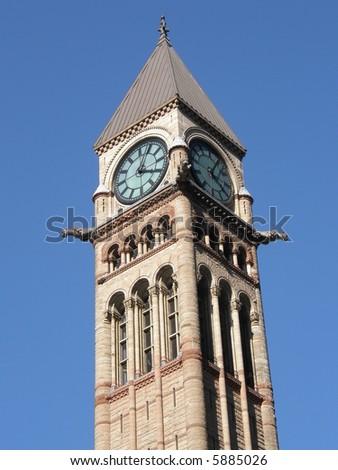 Historic Toronto City Hall in Canada