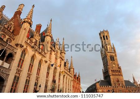 Historic town of Bruges -  Belgium (an UNESCO world heritage site)