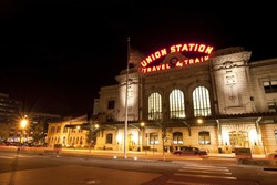 Historic Union Station in Denver