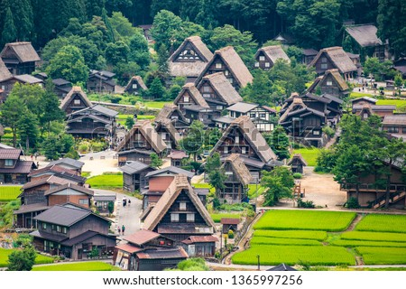 Historic Villages of Shirakawa-g and Gokayama, Shirakawa-mura, Gifu-ken, Japan, Asia, Eastern Asia