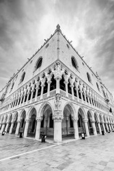 Historical architecture - Doge's Palace in Venice, Italy