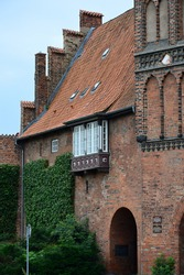 Historical Building in the Old Town of the Hanse City Luebeck, Schleswig - Holstein