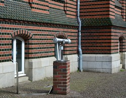 Historical Buildings in the Old Town of the Hanse City Luebeck, Schleswig - Holstein
