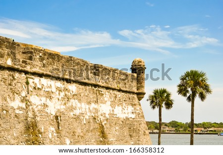 historical castillo de san marcos at saint augustine, florida #166358312