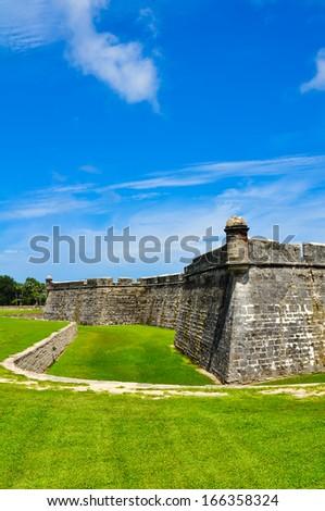 historical castillo de san marcos at saint augustine, florida #166358324