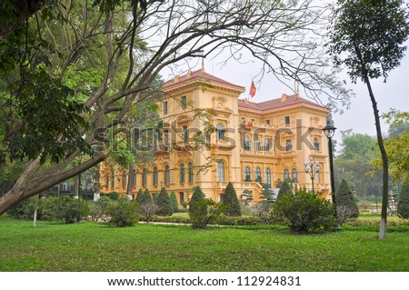 Historical French Colonial Governor's Mansion - Hanoi, Vietnam