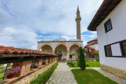 Historical Hadum Mosque built by the Ottomans, in Gjakova, Kosovo.