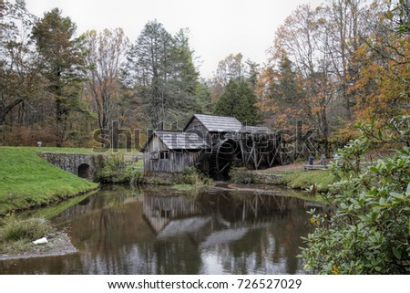 Historical Landmark Mabry Gristmill / Historical Landmark Mabry Gristmill / Historical Landmark Mabry Gristmill /