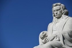Historical monument by Ludwig van Beethoven in the city of Nuremberg and in the district of St. Johannis