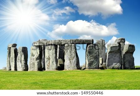Historical monument Stonehenge,England,UK Stock photo ©