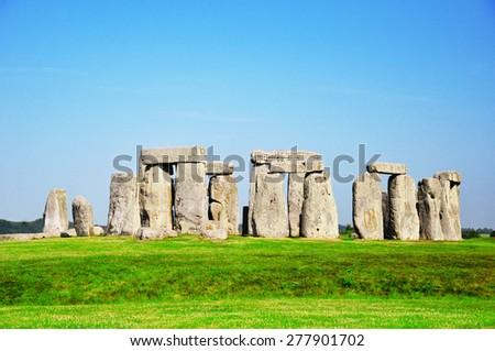 Historical monument Stonehenge, England, United Kingdom Stock photo ©
