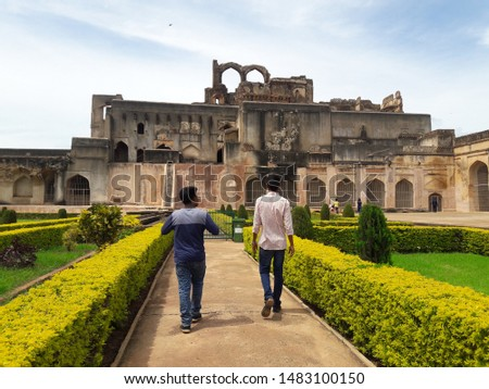 Historical place it's name is Bidar fort