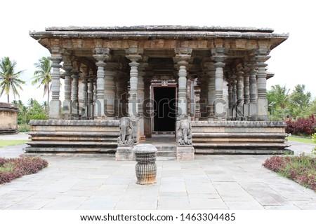 Historical places in india Basadi Halli hoysala temple