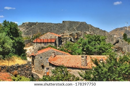 Historical village of Sortelha, Portugal