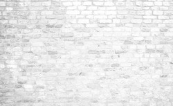 historical white brick wall background