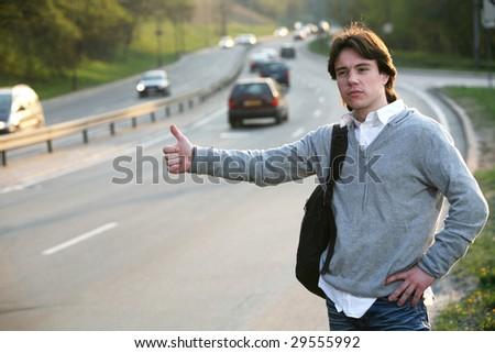 Hitchhiking - Need a drive