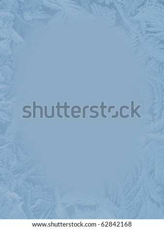 hoarfrost background