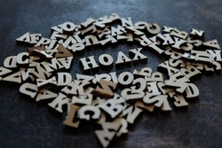 HOAX writing from a collection of letters.