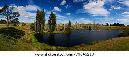 Hobbiton, Shire, New Zealand.