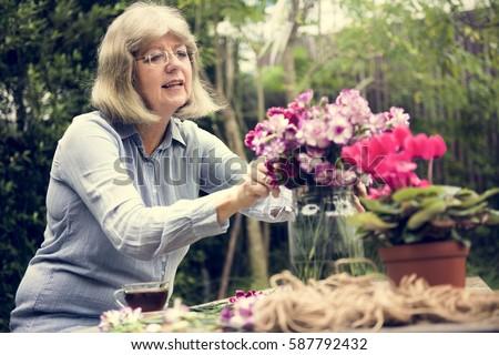 Hobby Lady Mature Flower Arrangement #587792432