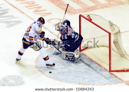 hockey - stock photo