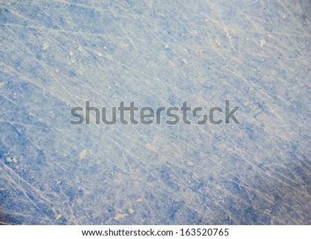 Hockey blue line background