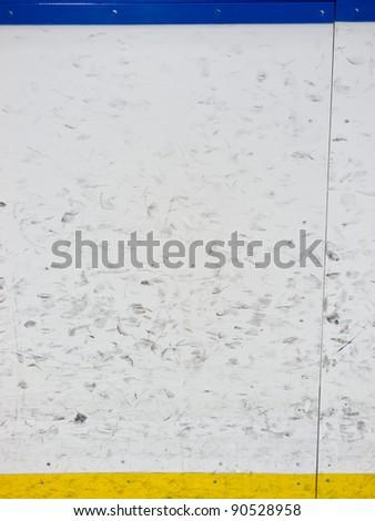 Hockey boards - stock photo
