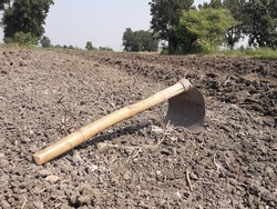 Hoeis an ancient and versatile agricultural and horticultural hand tool used to shape soil, remove weeds, clear soil, and harvest root crops.