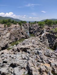 Hogenakkal waterfalls beauty of nature