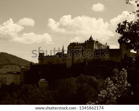 Hohensalzburg castle in the city of Salzburg #1345862174
