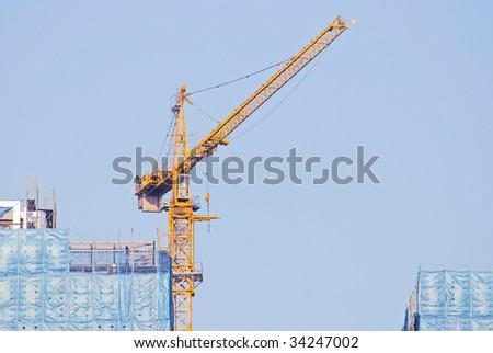 hoist and under construction Buildings
