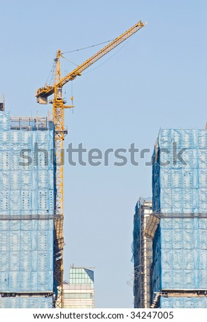 hoist and under construction Buildings