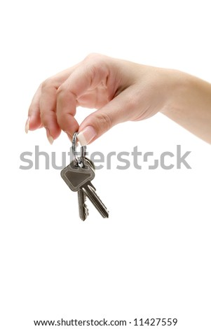 Holding a Bunch of Apartment Keys