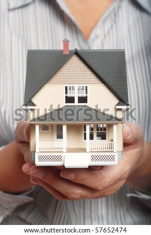 Holding a home for sale