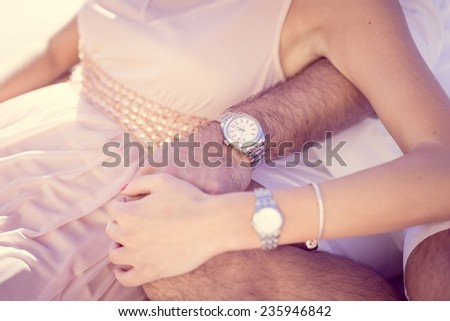 Holding couple