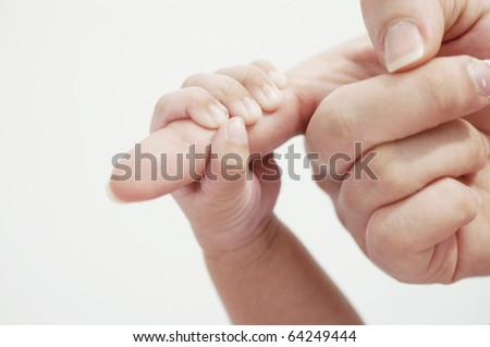 Holding finger