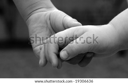 African American Holding Black Hands Stock Image Imagejpg ...