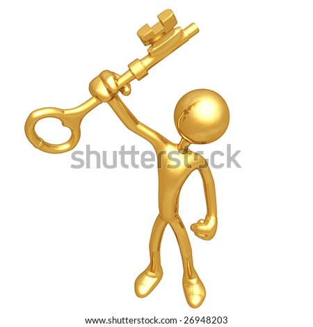 Holding The Gold Key