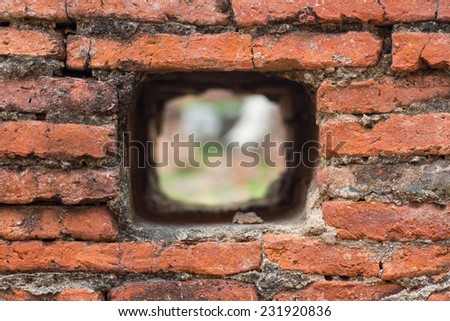 Hole in the Wall Background