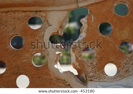 Holes in wall