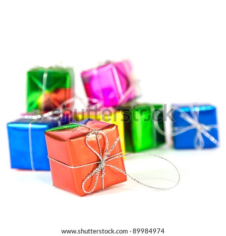 Holiday accessory gift boxes