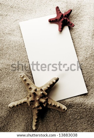 Holiday beach concept