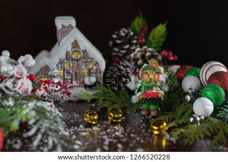 holiday decorations and decorations #1266520228