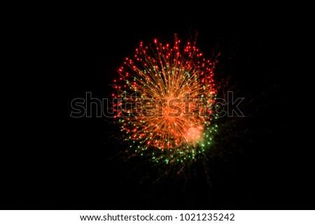 holiday fireworks fire colors night celebration background lights happy holidays new year pyrotechny christmas celebrate night