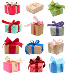 Holiday gift boxes, greetings day