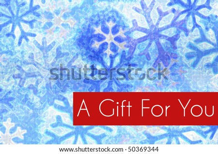 Holiday Gift Card Concept