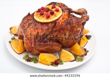 holiday roasted chicken