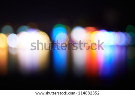 Holiday's lights- can be used for background