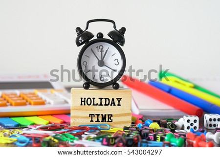 HOLIDAY TIME #543004297